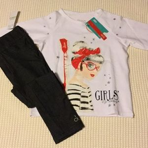 Calvin Klein Matching Sets - NWT jeggings and long-sleeved top